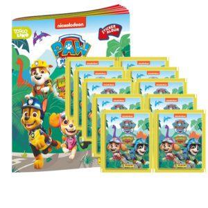 Panini Paw Patrol Dino Rescue Sticker 1x Album + 10 Tüten