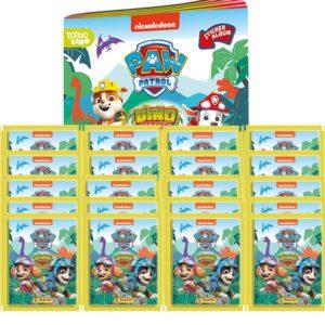 Panini Paw Patrol Dino Rescue Sticker 1x Album + 20 Tüten