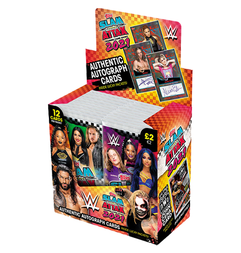 Topps WWE Slam Attax 2021 Display