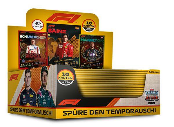 Topps Formula 1 Turbo Attax 2021