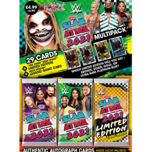 Topps WWE Slam Attax 2021 Multipack The Fiend (Grün)