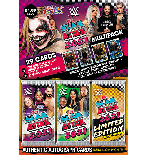 Topps WWE Slam Attax 2021 - Multipack - The Fiend (Lila)