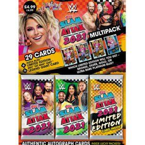 Topps WWE Slam Attax 2021 - Multipack - Alexa Bliss (Orange)
