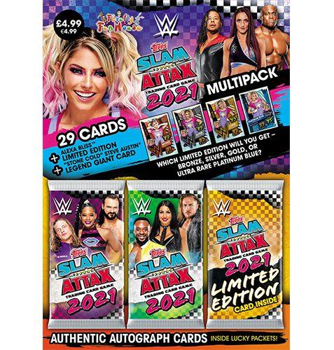 Topps WWE Slam Attax 2021 Multipack Alexa Bliss (Blau)
