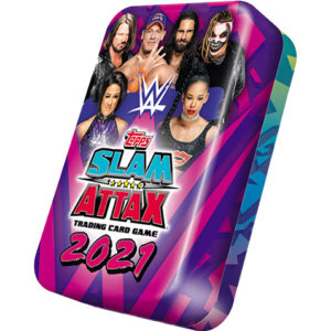 WWE Slam Attax 2021 Mega Tin Lila