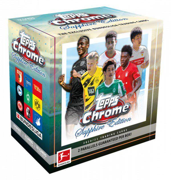 Topps Bundesliga Sapphire 2020/21 Chrome Hobby Box OVP