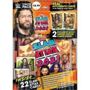 Topps WWE Slam Attax 2021 Starterpack