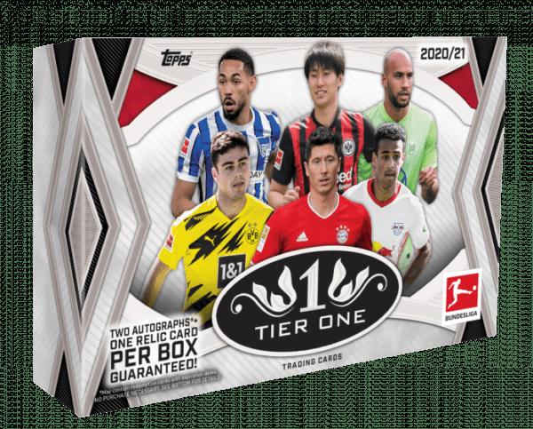Topps Bundesliga Tier One Trading Cards 2020/21 Hobby Box