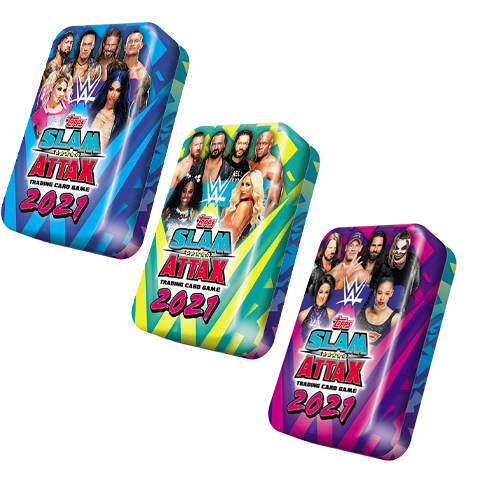 WWE Slam Attax 2021 Mega Tin Set