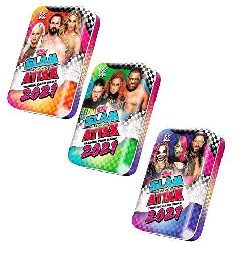 Topps WWE Slam Attax 2021 Mini Tin Set