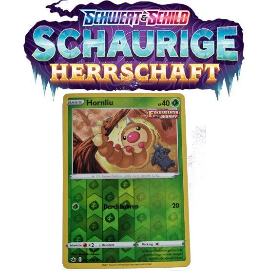 Pokémon Schaurige Herrschaft 001/198 Hornliu REVERSE HOLO
