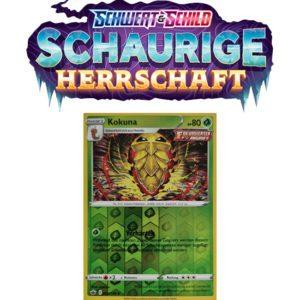 Pokémon Schaurige Herrschaft 002/198 Kokuna REVERSE HOLO