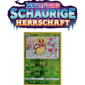 Pokémon Schaurige Herrschaft 004/198 Ledyba REVERSE HOLO