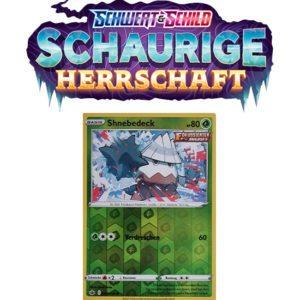 Pokémon Schaurige Herrschaft 009/198 Shnebedeck REVERSE HOLO