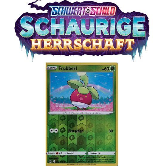 Pokémon Schaurige Herrschaft 013/198 Frubberl REVERSE HOLO