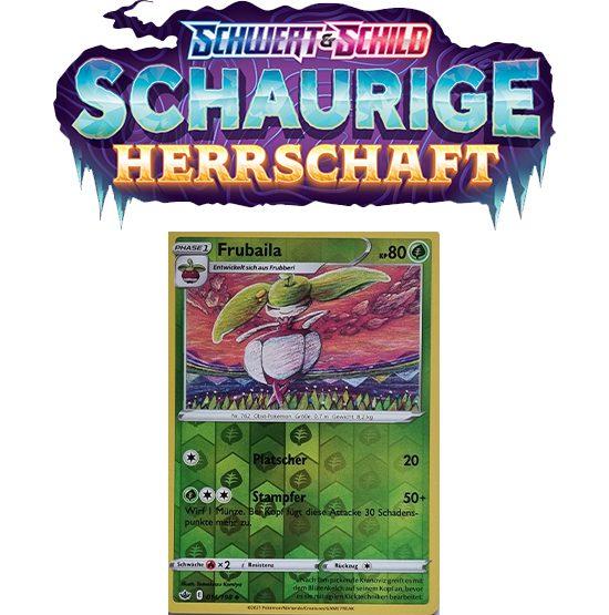Pokémon Schaurige Herrschaft 014/198 Frubaila REVERSE HOLO