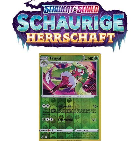 Pokémon Schaurige Herrschaft 015/198 Fruyal REVERSE HOLO