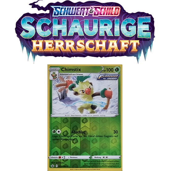 Pokémon Schaurige Herrschaft 017/198 Chimstix REVERSE HOLO