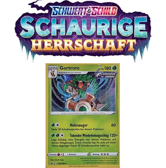 Pokémon Schaurige Herrschaft 018/198 Gortrom HOLO
