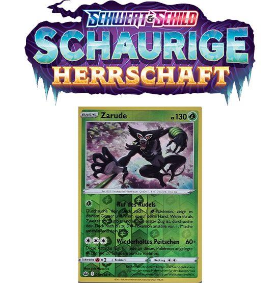 Pokémon Schaurige Herrschaft 019/198 Zarude REVERSE HOLO