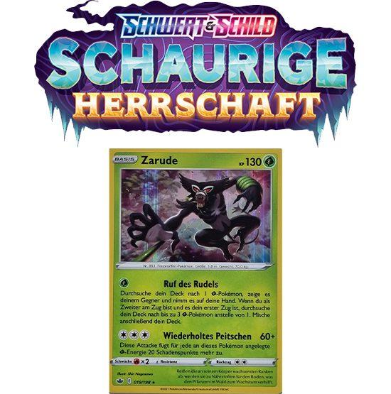 Pokémon Schaurige Herrschaft 019/198 Zarude HOLO