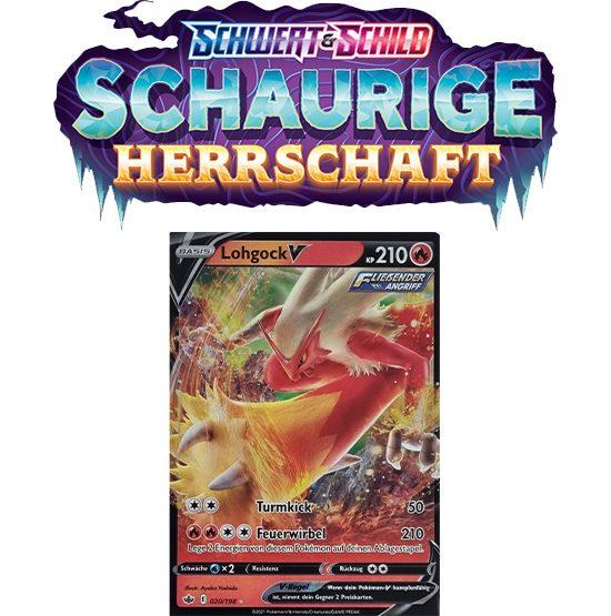 Pokémon Schaurige Herrschaft 020/198 Lohgock-V