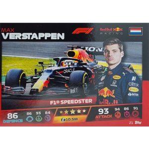 Turbo Attax 2021 Nr 021 Max Verstappen
