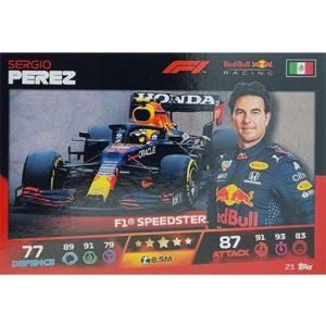 Turbo Attax 2021 Nr 023 Sergio Perez