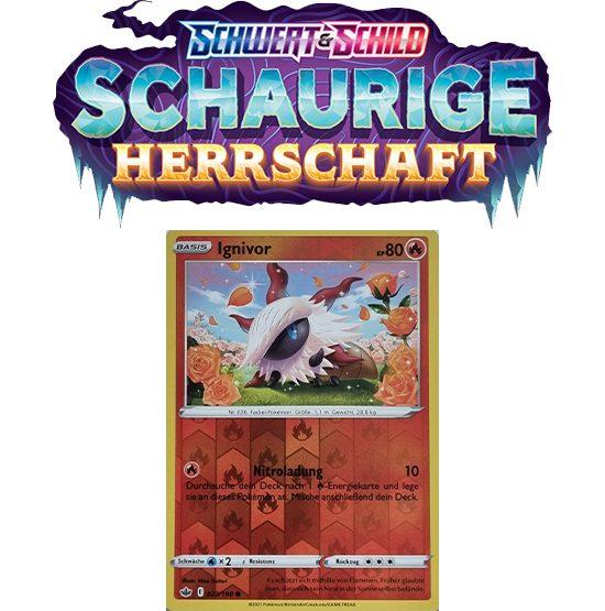 Pokémon Schaurige Herrschaft 023/198 Ignivor REVERSE HOLO