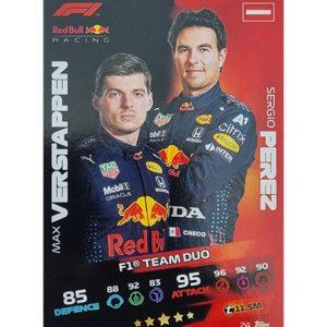 Turbo Attax 2021 Nr 024 Verstappen Perez