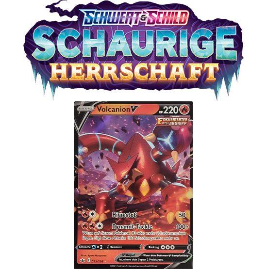 Pokémon Schaurige Herrschaft 025/198 Volcanion-V