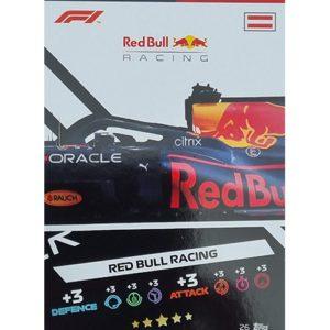 Turbo Attax 2021 Nr 026 Red Bull Racing