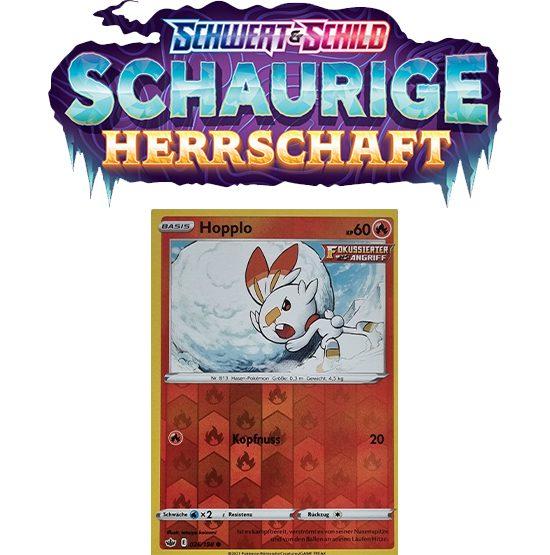 Pokémon Schaurige Herrschaft 026/198 Hopplo REVERSE HOLO