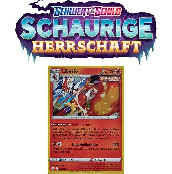 Pokémon Schaurige Herrschaft 028/198 Liberlo HOLO