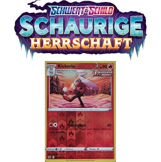 Pokémon Schaurige Herrschaft 027/198 Kickerlo REVERSE HOLO
