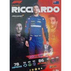 Turbo Attax 2021 Nr 029 Daniel Ricciardo