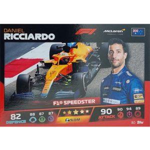 Turbo Attax 2021 Nr 030 Daniel Ricciardo
