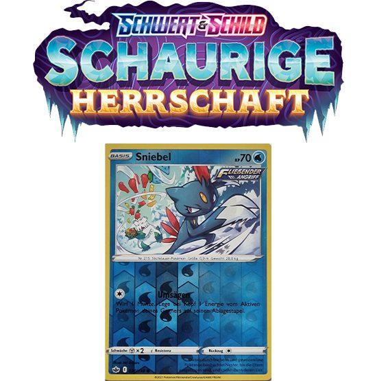 Pokémon Schaurige Herrschaft 030/198 Sniebel REVERSE HOLO