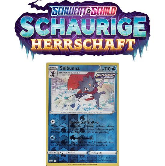 Pokémon Schaurige Herrschaft 031/198 Snibunna REVERSE HOLO