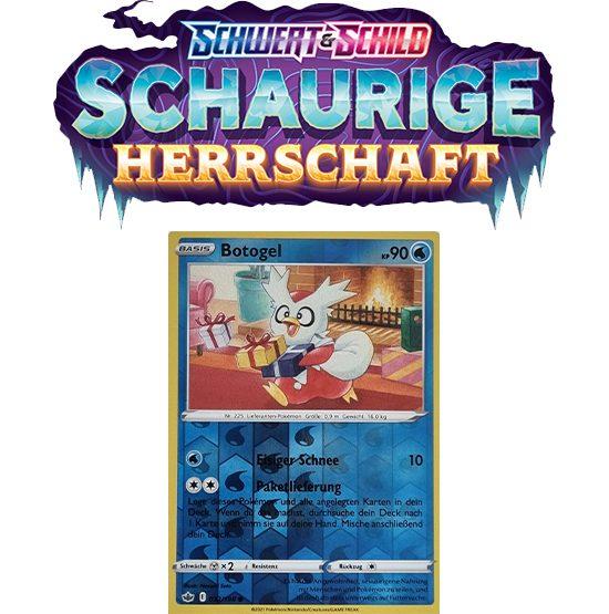 Pokémon Schaurige Herrschaft 032/198 Botogel REVERSE HOLO