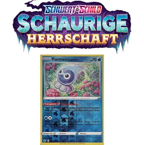 Pokémon Schaurige Herrschaft Formeo Regenform 033/198 REVERSE HOLO