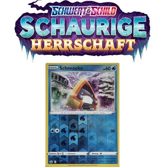 Pokémon Schaurige Herrschaft 035/198 Schneppke REVERSE HOLO