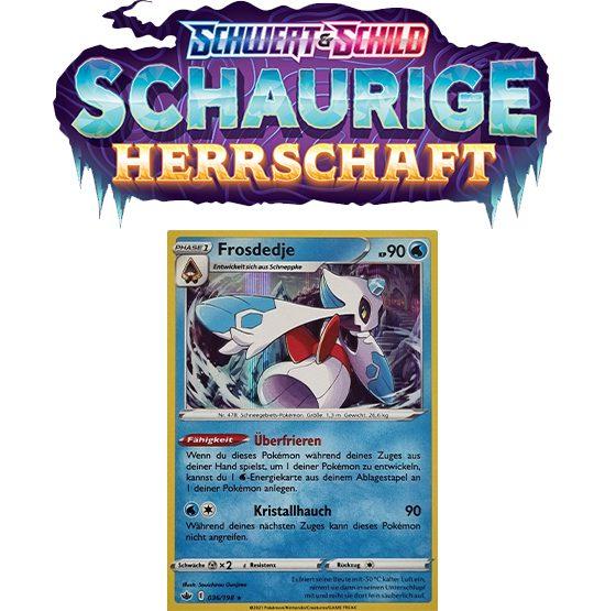 Pokémon Schaurige Herrschaft 036/198 Frosdedje HOLO