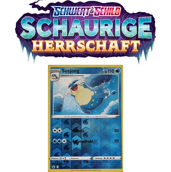 Pokémon Schaurige Herrschaft 038/198 Seejong REVERSE HOLO