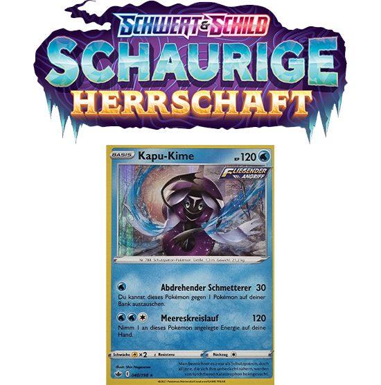 Pokémon Schaurige Herrschaft 040/198 Kapu-Kime HOLO