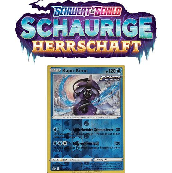 Pokémon Schaurige Herrschaft 040/198 Kapu-Kime REVERSE HOLO