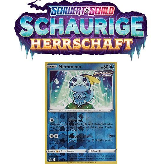 Pokémon Schaurige Herrschaft 041/198 Memmeon REVERSE HOLO