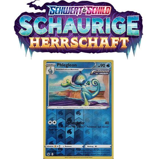 Pokémon Schaurige Herrschaft 042/198 Phlegleon REVERSE HOLO