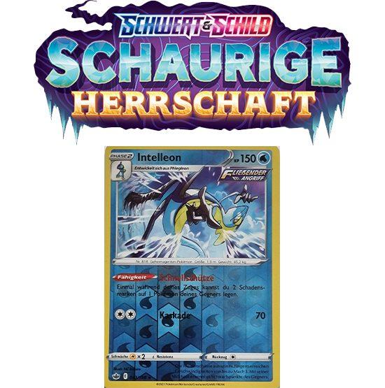 Pokémon Schaurige Herrschaft 043/198 Intelleon REVERSE HOLO