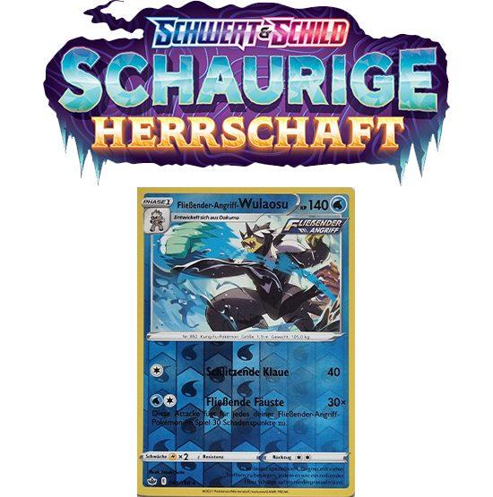 Pokémon Schaurige Herrschaft 044/198 Fließender-Angriff-Wulaosu REVERSE HOLO